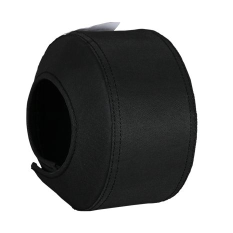 Safety shield for industrial flange cover